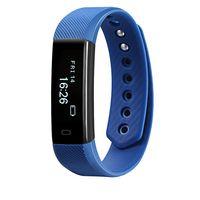 Фитнес-браслет Miru ID115HR (синий)