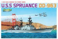 "Миноносец ""U.S.S. Spruance DD-963"" (масштаб: 1/700)"