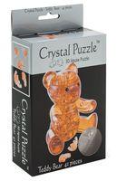 "Пазл-головоломка ""Crystal Puzzle. Янтарный мишка"" (41 элемент)"