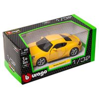 "Модель машины ""Bburago. Street Fire. Porsche Cayman"" (масштаб: 1/32)"