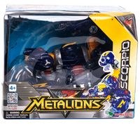 "Робот-трансформер ""Metalions. Scorpio"""