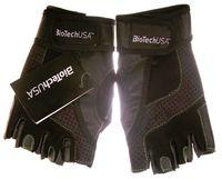 """Перчатки для фитнеса """"Toronto"""" (чёрные; L)"""