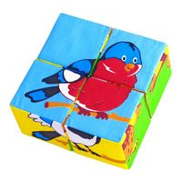 """Мягкая игрушка """"Кубики. Птици"""""""