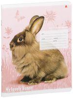 """Тетрадь в линейку """"Милые крольчата"""" (12 листов; в ассортименте)"""