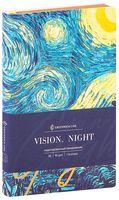 """Ежедневник недатированный """"Van Gogh. Night"""" (В6)"""