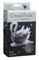 """Пазл-головоломка """"Crystal Puzzle. Черный лебедь"""" (44 элемента)"""