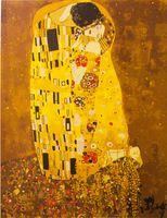 "Картина по номерам ""Густав Климт. Поцелуй"" (400x500 мм; арт. MG543)"
