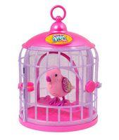 """Интерактивная игрушка """"Птичка в клетке"""""""