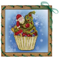 """Набор для вышивания """"Рождественское пирожное"""""""