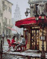 "Картина по номерам ""Парижская улочка"" (400х500 мм; арт. GX8089)"