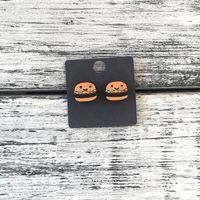 """Серьги """"Гамбургеры"""" (арт. 320)"""