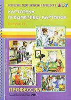 Картотека предметных картинок. Выпуск 13. Профессии