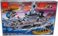 """Конструктор """"Combat Zones. Ракетный крейсер"""" (843 детали)"""