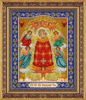 """Вышивка бисером """"Пресвятая Богородица Прибавление Ума"""""""