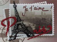 """Набор для вышивания """"Воспоминания о Париже"""""""