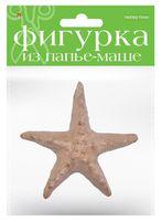 """Заготовка из папье-маше """"Морская звезда"""" (100х30х100 мм)"""