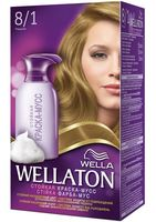 "Краска-мусс для волос ""Wellaton"" (тон: 8/1, ракушка)"