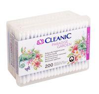 """Ватные палочки """"Cleanic"""" (коробка; 200 шт.)"""