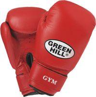 Перчатки боксёрские GYM BGG-2018 (10 унций; красные)