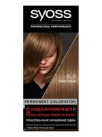 "Крем-краска для волос ""Syoss"" тон: 6-8, темно-русый"