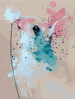 "Картина по номерам ""Кролик с клевером"" (400х500 мм)"