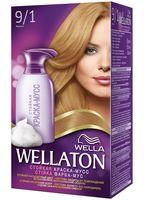 "Краска-мусс для волос ""Wellaton"" (тон: 9/1, жемчуг)"