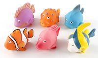 """Набор игрушек для купания """"Рыбки"""" (6 шт)"""