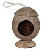 Домик из кокосовой скорлупы для грызунов (13х31 см)