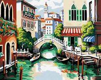 "Картина по номерам ""Венецианский пейзаж"" (400x500 мм; арт. MG175)"