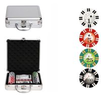 """Набор для покера """"Royal Flush"""" (100 фишек)"""