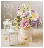 "Календарь настенный ""Цветы"" (2019; арт. 262940)"