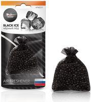 """Ароматизатор подвесной """"Мешочек с гранулами"""" (чёрный лед; арт.AFME031)"""