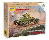 "Британский пехотный танк ""Матильда"" Мк-1 (масштаб: 1/100)"