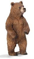 """Фигурка """"Медведь гризли. Самка"""" (11 см)"""