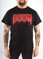 """Футболка """"Doom - Classic Logo""""  (размер - M)"""