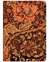 """Записная книжка Paperblanks """"Жимолость Морриса"""" в линейку (формат: 120*170 мм, средний)"""