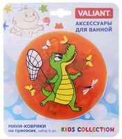 """Коврик для ванночки """"Крокодил"""" (6 шт.)"""