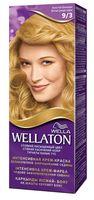 """Крем-краска для волос """"Wellaton. Интенсивная"""" (тон: 9/3, золотой блондин)"""