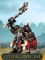 "Миниатюра ""Warhammer FB. Finecast: Orc & Goblin Black Orc Big Boss"" (89-62)"