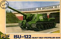 САУ ИСУ-122 (масштаб: 1/72)