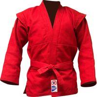Куртка для самбо JS-303 (р. 5/180; красная)