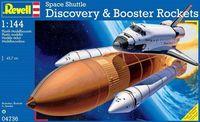 "Космический шаттл ""Discovery & Booster Rockets"" (масштаб: 1/144)"