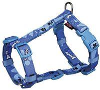 "Шлея для собак ""Modern Art H-Harness Woof"" (размер XS-S, 30-40 см, голубой, арт. 15224)"