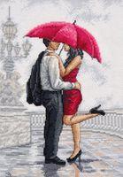 "Вышивка крестом ""В объятиях дождя"" (200x300 мм)"