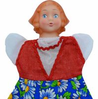 """Мягкая игрушка на руку """"Красная Шапочка"""" (27 см)"""