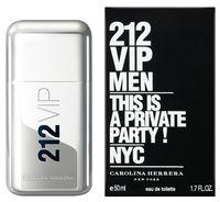 "Туалетная вода для мужчин Carolina Herrera ""212 VIP"" (50 мл)"