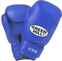 Перчатки боксёрские GYM BGG-2018 (8 унций; синие)