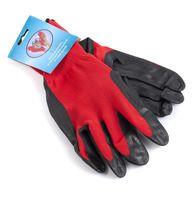 Перчатки текстильные для садовых работ (1 пара; арт. PR4006)