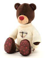"""Мягкая игрушка """"Медведь Choco в свитере"""" (25 см)"""