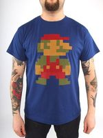 """Футболка """"Super Mario 8bit""""  (размер - M)"""